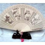 中華文様の工芸扇子・ 白檀の香り付け人気の扇子・西安民芸品