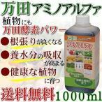 万田酵素 肥料 万田アミノアルファ 1000ml 1L (あすつく)