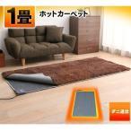 ホットカーペット 1畳 本体 1畳用 ダニ退治機能 折り畳み収納 暖房 暖房器具 TWA-1000BI TEKNOS (D)