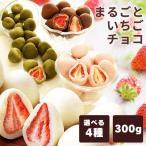 イチゴ チョコ ホワイト いちごチョコ チョコレート まるごといちごチョコ ホワイトチョコがけ 300g