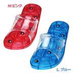 水切れサンダル マグネット付き MSAN-G25M・LSAN-G27L ピンク・ブルー(アイリスオーヤマ)ベランダサンダル