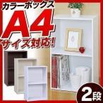 ショッピングカラーボックス カラーボックス 収納ボックス CX-2F キューブボックス キューブBOX (あすつく)