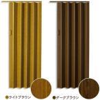 インテリア性の高い木目調のパネルドア!