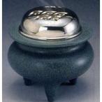 高岡銅器 香炉【平型(波千鳥蓋)】伝統美術工芸品