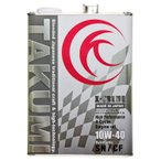 TAKUMIモーターオイル X-TREME【10W-40】エンジンオイル/ レース ドリフト 化学合成油(PAO+HIVI)4L【送料無料】