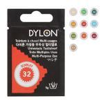 メール便OK DYLON ダイロン マルチ 5g 02 高温染め染料 衣類・繊維用 英国製
