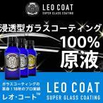 LEO COAT レオコートスーパーガラスコーティングセット 車 バイク用コーティング ガラス ポリマー シャンプー 粘土バフ クロス