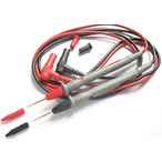 テスターリード 20A対応 金メッキ極細ニードルタイプ 1000V20A 赤・黒セット