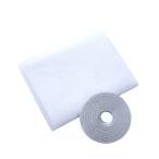 簡単取り付け マジックテープ式 万能 網戸 キット  Mサイズ:160×200cm 網戸の無い窓にも 取付可能 風を取り込み 虫を入れさせない 湿気 換気 部屋 SY-AMIDO