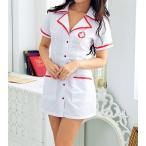 ナース服 看護婦コス セクシーコスチューム ホワイト