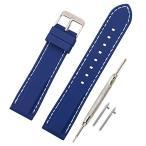 時計 ベルト 腕時計 ベルト 時計 ベルト ラバー 腕時計ストラップ 防水 柔らか スポーツ - 18mm 20mm 22mm 24mm シリコーン