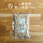煎り大豆 100g 無添加 九州産 焙煎 大豆 イソフラボン 炒り大豆 丸ごと大豆 豆 国産 サポニン レシチン タンパク プロテイン