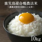 お米 合鴨農法米 ひのひかり 10kg 新米 精白米 白米 米 コメ 令和元年度産 南九州産 宮崎産 鹿児島産 送料無料