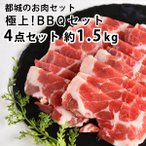 極上!BBQ4点セット BBQお肉セット バーベキュー 4点セット 宮崎牛 豚肩ロース ロース肉 バラ肉牛肉 豚肉 鶏肉 焼肉 お肉セット ギフト お取り寄せ 送料無料