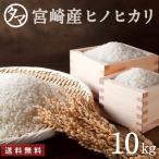 ひのひかり 10kg 新米 令和2年度産 宮崎県産 お米 こめ コメ 精白米 白米 ヒノヒカリ 九州 送料無料