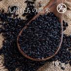 黒米 南九州産 100g クロマイ 有機肥料 黒紫米
