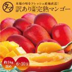 訳あり宮崎完熟マンゴー 3kg マンゴー わけあり くだもの フルーツ 果物 ギフト 贈り物 家庭用 送料無料 見た目ちょいわる 味は絶品
