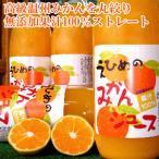 果汁100% 愛媛の無添加みかんジュース 1000ml×12本 1本に約30個分のみかんを丸搾り♪