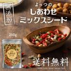 ミックスシード 無添加 250g 4種類 かぼちゃの種 ひまわりの種 クコの実 松の実 パンプキン ゴジベリー 送料無料