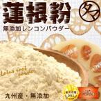 蓮根粉 レンコンパウダー 70g れんこん 粉末 食物繊維 九州 無添加 送料無料