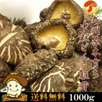 激安 九州産原木中粒干しどんこしいたけ 1000g 無農薬原木栽培