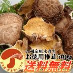 九州産原木乾し徳用椎茸 500g 安心・安全な無農薬原木栽培