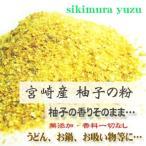 柚子パウダー 100g 無添加 宮崎産 柚子 ゆず 粉末 パウダー 調味料 薬味 香辛料 料理 送料無料