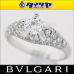 BVLGARI ブルガリ コロナ ダイヤ(D0.42ct F-VS1) リング 日本サイズ約10号 #50 Pt950 プラチナ 27170302
