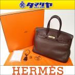 ショッピングHERMES HERMES エルメス Birkin35 バーキン35 ショコラ トゴ □K刻印(2007年製造) シルバー金具 28260306