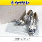【未使用品】オーダーメード JIMMY CHOO ジミー チュウ ARI クリスタルポインテッドトゥパンプス Made In Italy 29640910