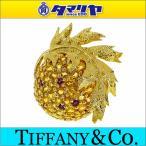 TIFFANY&Co ティファニー イエローサファイア ルビー シュランバーゼ ブローチ K18 750 YG 28941212
