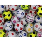 落書き キャロウェイ Callaway CHROME SOFT サッカーボール柄混合 20個 球手箱ロストボール