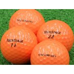 ロストボール Aランク ロゴなし ツアーステージ V10 LIMITED オレンジ 2014年モデル 1個