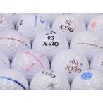 ロストボール 落書きABランク ゼクシオ SUPER XD PLUS ゴールド・ネイビー・プレミアムホワイト混合 1個