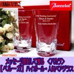 ショッピングバカラ バカラ ペアグラス 結婚祝い  名入れ 人気 ハイボール・ビールグラス ベガ ベルーガ エトナ ハイボール