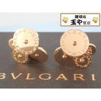 ブルガリ チクラディ K18 イヤリング BVLGARI ロゴ刻印 ケース付 新品同様画像