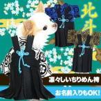 秋冬 犬服 新作 着物 正月 コスプレ 年賀状 男振り袴 はかま 北斗(ほくと) ひな祭り【1000off】