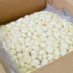 昨シーズンより1000円OFF/箱。冷蔵 中国産 ムキにんにく1kg×10パックむきにんにく にんにく 中国産 ニンニク ニンニク料理