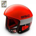 ★BRIKO〔ブリコ スキーヘルメット〕SH0001/VULCANO 6.8〔A018 オレンジフロー/ブラック〕〔z〕