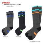 ★PHENIX 〔フェニックス ジュニアソックス〕Phenix Logo Boy's Socks PS6G8SO81〔z〕