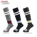 【割引セール中!】【倍々キャンペーンP5倍】PHENIX 〔フェニックス レディースソックス〕<2018>Line Socks PS788SO62 靴下