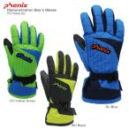 PHENIX 〔フェニックス スキーグローブ ジュニア 子供用〕<2018>Demonstration Boy's Gloves PS7G8GL82〔SA〕
