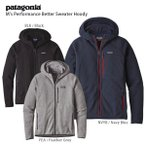 17-18 PATAGONIA〔パタゴニア ミドルレイヤー〕<2018>M's Performance Better Sweater Hoody/25960