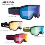 【割引セール中!】ALPINA〔アルピナ スキーゴーグル〕<2019>SCARABEO MM〔スカラベオ MM〕【眼鏡・メガネ対応ゴーグル】〔SAG〕