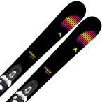 スキー板 DYNASTAR ディナスター ジュニア 2021 MENACE TEAM KID-X + KID-X 4 B76 BLACK WHITE ビンディング セット 取付無料 20-21 〔SA〕