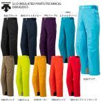 スキー ウェア DESCENTE デサント パンツ 2021 DWUQJD55 S.I.O INSULATED PANTS/TECHNICAL 20-21 旧モデル