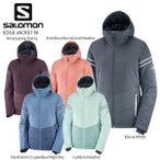 SALOMON〔サロモン スキーウェア レディース ジャケット〕<2021> LC1384200 / EDGE JACKET W〔エッジジャケット〕