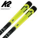 スキー板 K2 ケーツー <2021> DISRUPTION 82Ti ディスラプション 82Ti + MXC 12 TCx Light Quikclik ビンディング セット 取付無料 20-21