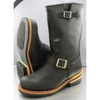 G&B 本格エンジニアブーツ メンズ ロングブーツ ブラック 黒 GB-9810 アウトドア グッドイヤー 大きいサイズあり  BIGサイズ  シューズ 紳士靴