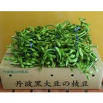 丹波篠山 丹波黒枝豆【1kg×2束】